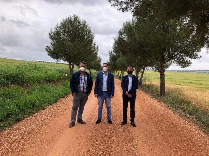 Diputación, El delegado de Infraestructuras Rurales de la Diputación de Córdoba, Manuel Olmo