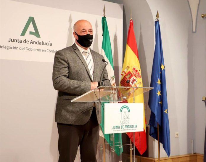 Diputación. El presidente de la Diputación, Antonio Ruiz