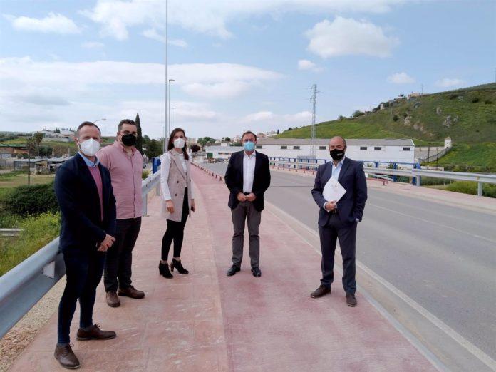 El delegado de Medio Natural y Carreteras de la Diputación de Córdoba, Francisco Palomares