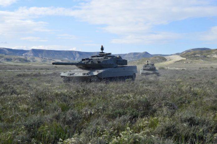 Las unidades de la Brigada 'Guzmán el Bueno' X, con base en Cerro Muriano (Córdoba), se han desplegado en el Centro de Adiestramiento 'San Gregorio', en Zaragoza, entre el 29 del pasado abril y el 8 del presente mayo, para la ejecución de dos ejercicios,