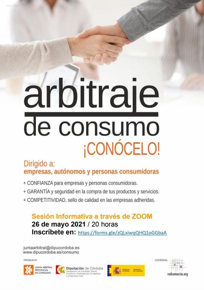 Cartel de la iniciativa 'Arbitraje de consumo, ¡conócelo!'