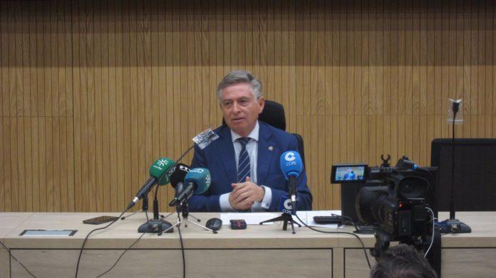 El presidente de la Audiencia de Córdoba, Francisco Sánchez Zamorano