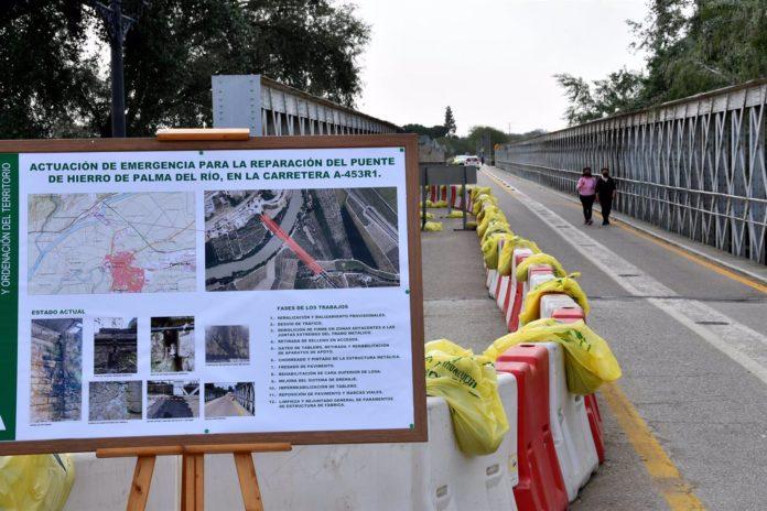 El Puente de Hierro de Palma del Río