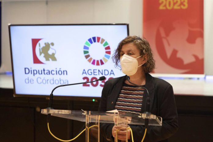 La delegada de Igualdad de la Diputación de Córdoba, Alba Doblas