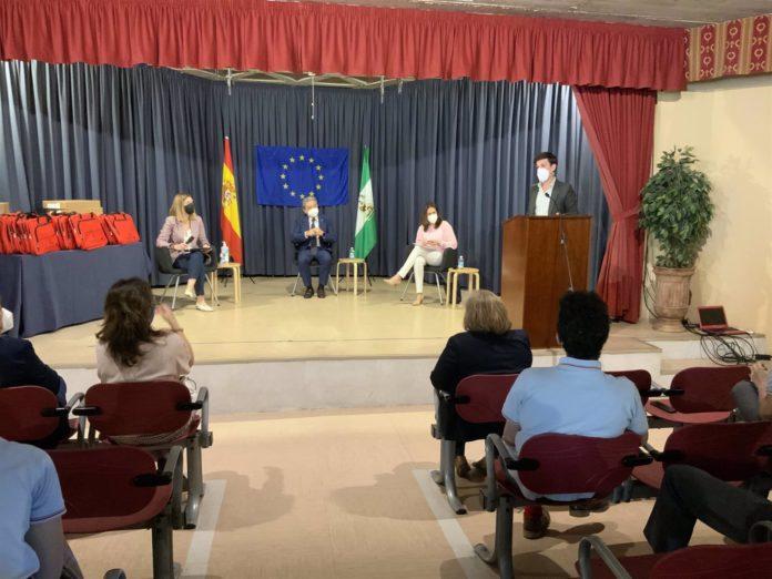 Entrega de los premios Jóvenes Andaluces Construyendo Europa