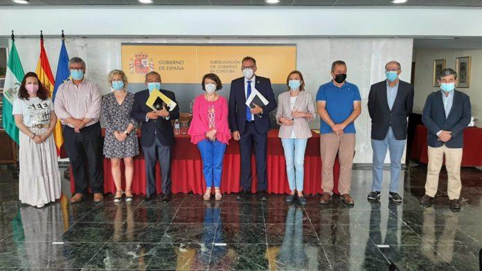 Asistentes a la Comisión Provincial de Seguimiento del Programa de Fomento del Empleo Agrario