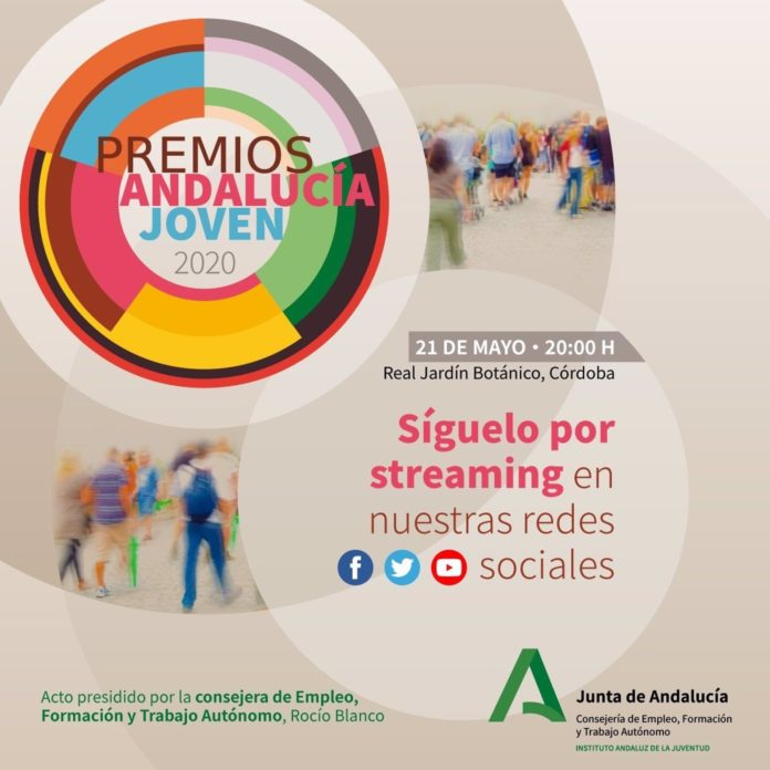 Cartel de los Premios Andalucía Joven