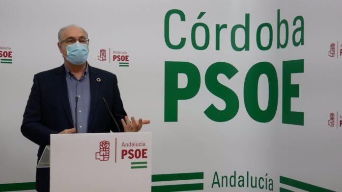 El parlamentrio andaluz del PSOE por Córdoba Juan Pablo Durán