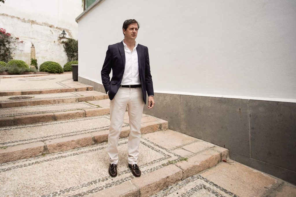 Fermín Gallardo, gerente inmobiliario