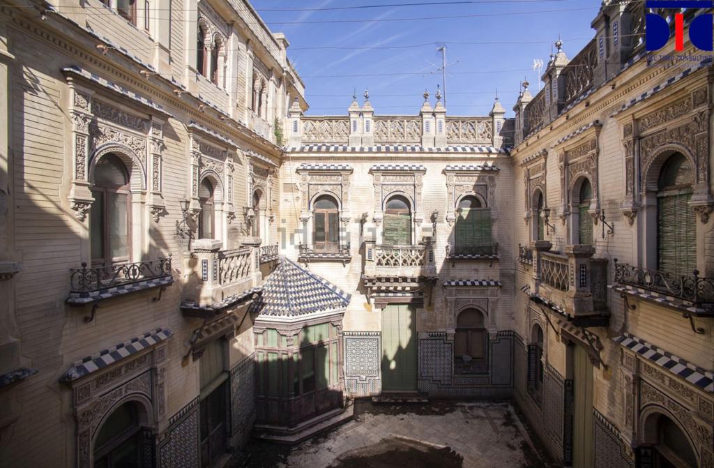 Palacete neomudéjar-plateresco en Aguilar de la Frontera (Córdoba)