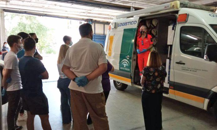 Futuros técnicos de emergencias sanitarias conocen el funcionamiento de EPES 061
