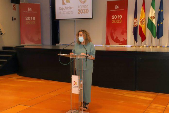 Delegada de Cultura en la Diputación de Córdoba, Salud Navajas