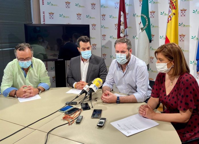 Ramón Martín, Fran Carrillo, Adolfo Molina y Cristina Piernagorda
