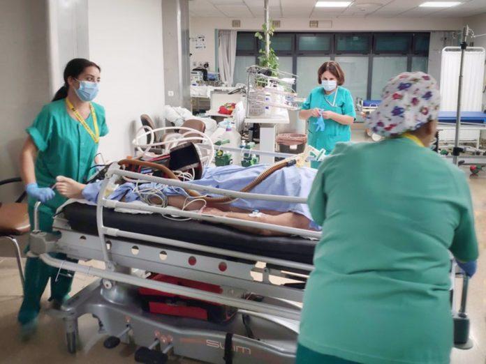 Sanitarias del Hospital Reina Sofía