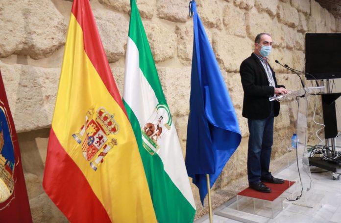 El delegado de Gestión del Ayuntamiento de Córdoba, Antonio Álvarez