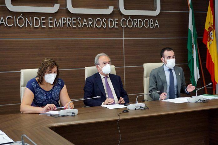 El delegado de Empleo, Ángel Herrador
