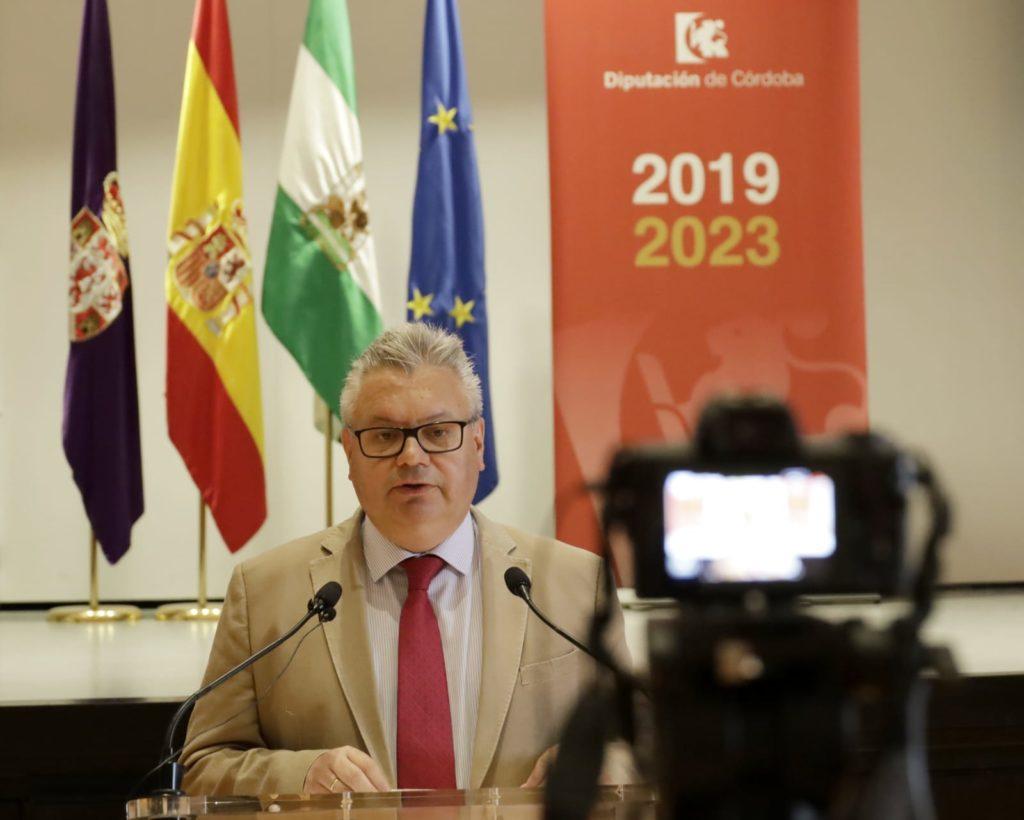 Esteban Morales, Diputación de Córdoba