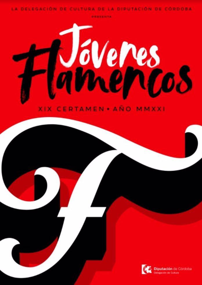 Cartel del certamen Jóvenes Flamencos
