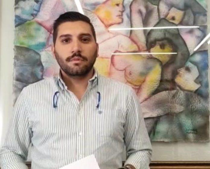 Miguel Castellano, El portavoz de Cs en la Diputación de Córdoba