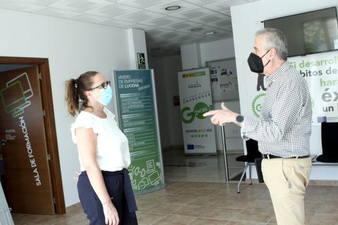 Juan Pérez visita Vivero de Empresas