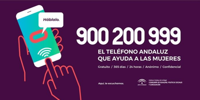 Número de teléfono de atención a víctimas de violencia de género