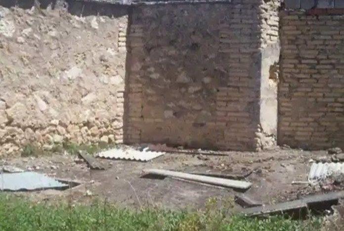 Zona de trabajo, cementerio de Cabra