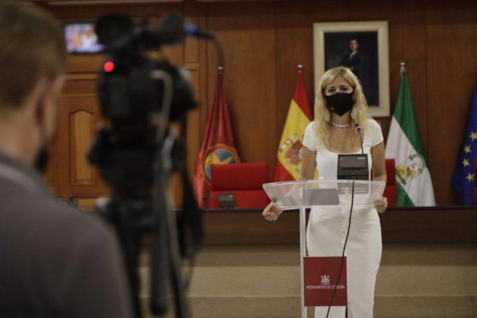 La teniente de alcalde delegada de Transformación Digital del Ayuntamiento de Córdoba, Lourdes Morales