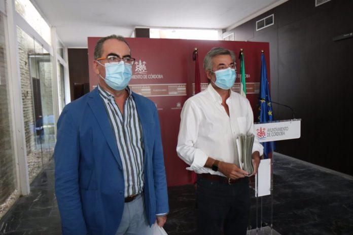 Miguel Ángel Torrico y Antonio Álvarez