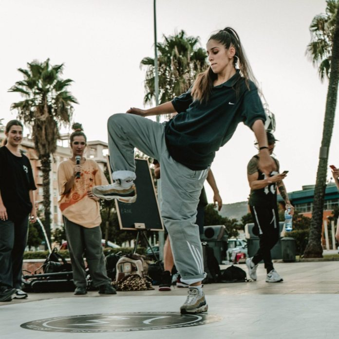 Competición de danza urbana